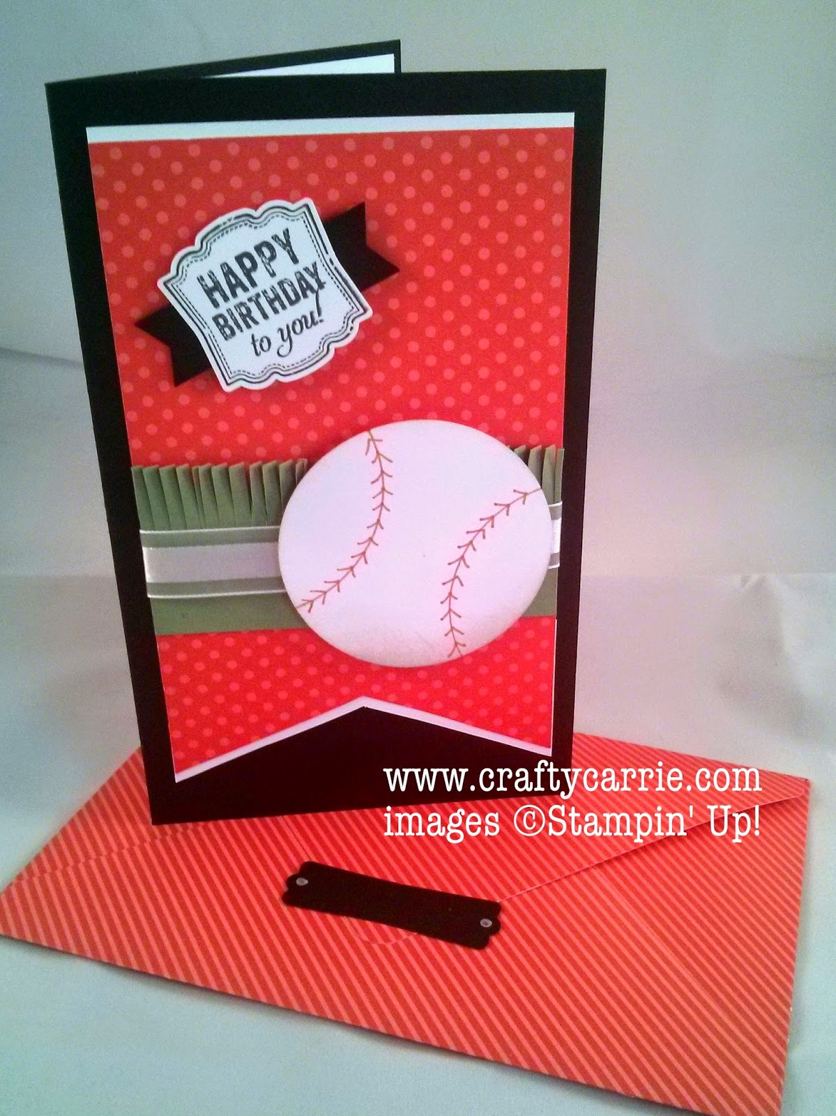 Crafty Carrie Creative Challenge Club CCC01 A Baseball