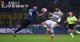 Agen Piala Eropa - Laga Derby d'Italia yang mempertemukan Inter Milan dan Juventus tak menghasilkan pemenang