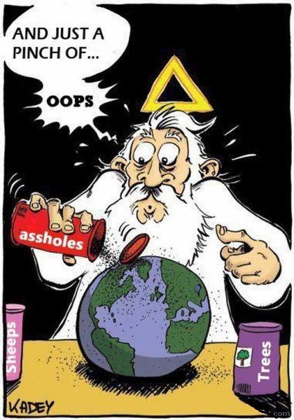 Dios creo a los tontos