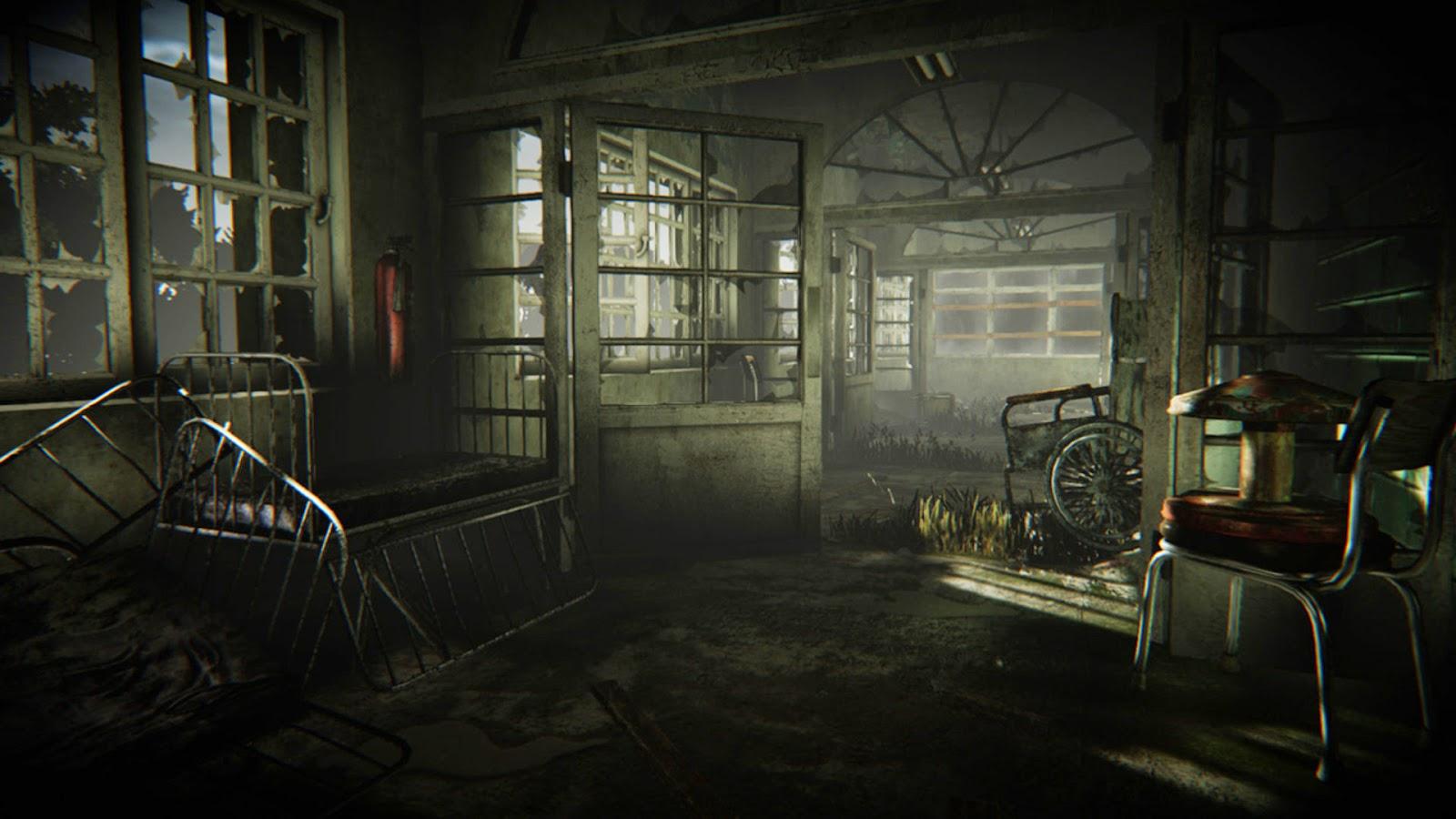 Scary mental hospital abandoned mental hospital