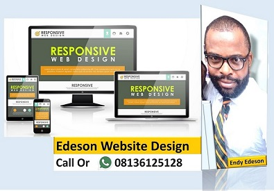 CONTACT EDESON TO DESIGN YOUR WEBSITE