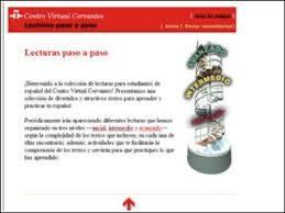 +++ LECTURAS PASO A PASO (CENTRO VIRTUAL CERVANTES)