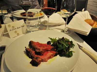 Zurich Renaissance Tower Hotel: main course, grilled beef