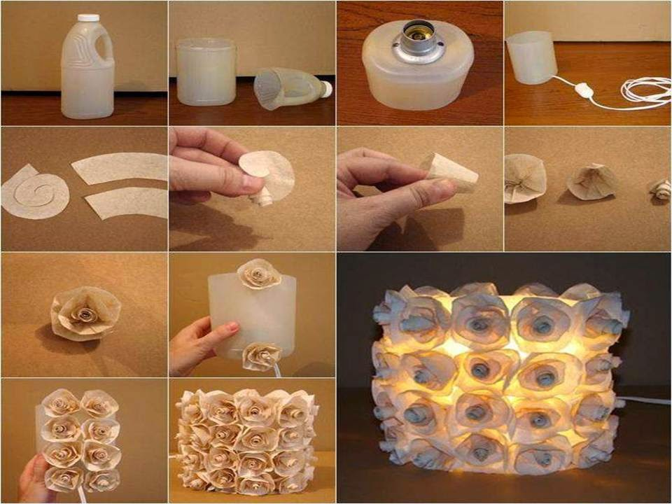 Home decor 15 diy decorating ideas with recycled plastic for Recycled home decor