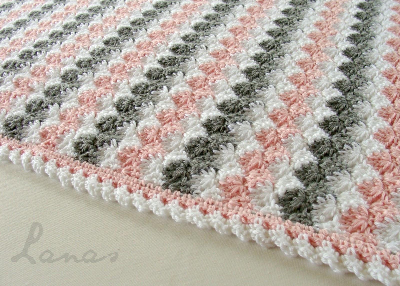 Lanas De Ana Blanket Pastel Waves