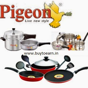 Buy Pigeon Dinner Set of 28 Rs. 699 : Buytoearn