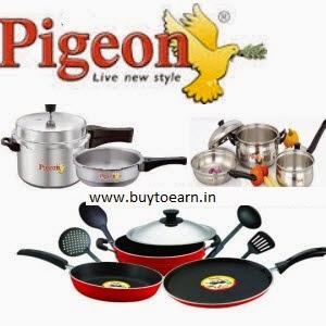 Buy Pigeon Dinner Set of 28 Rs. 699 : Buytoearn
