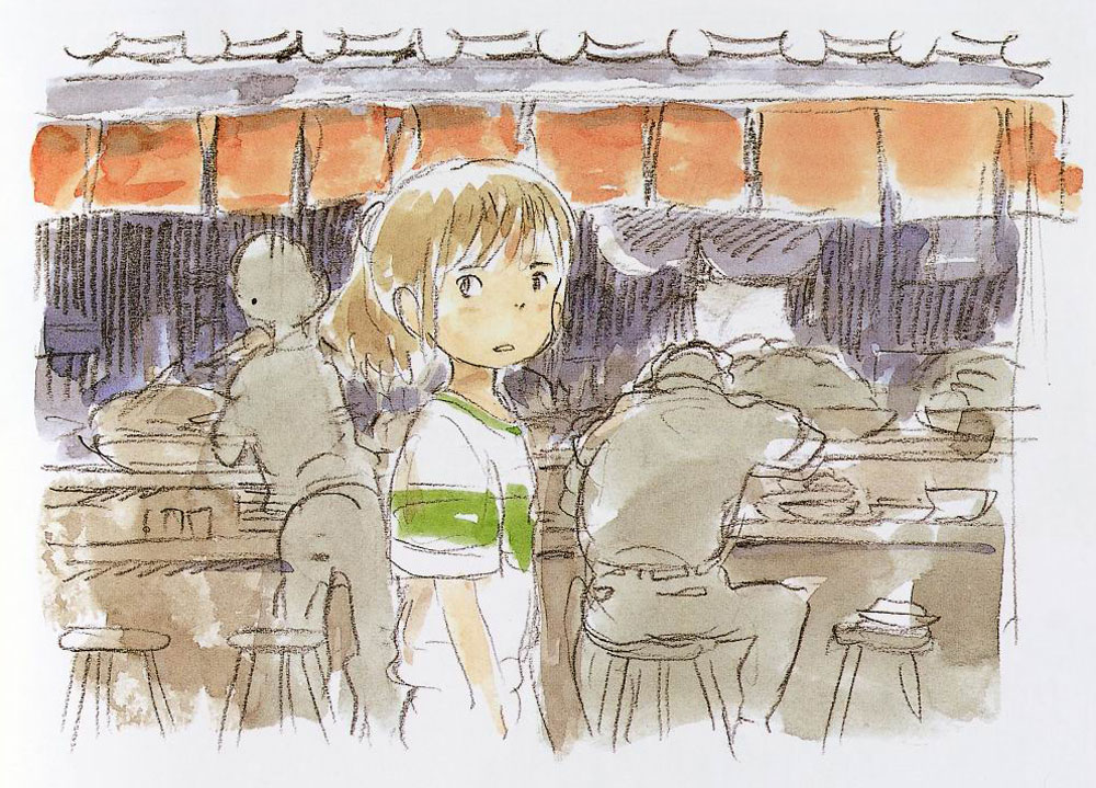 Living Lines Library ō�と千尋の神隠し Spirited Away 2001