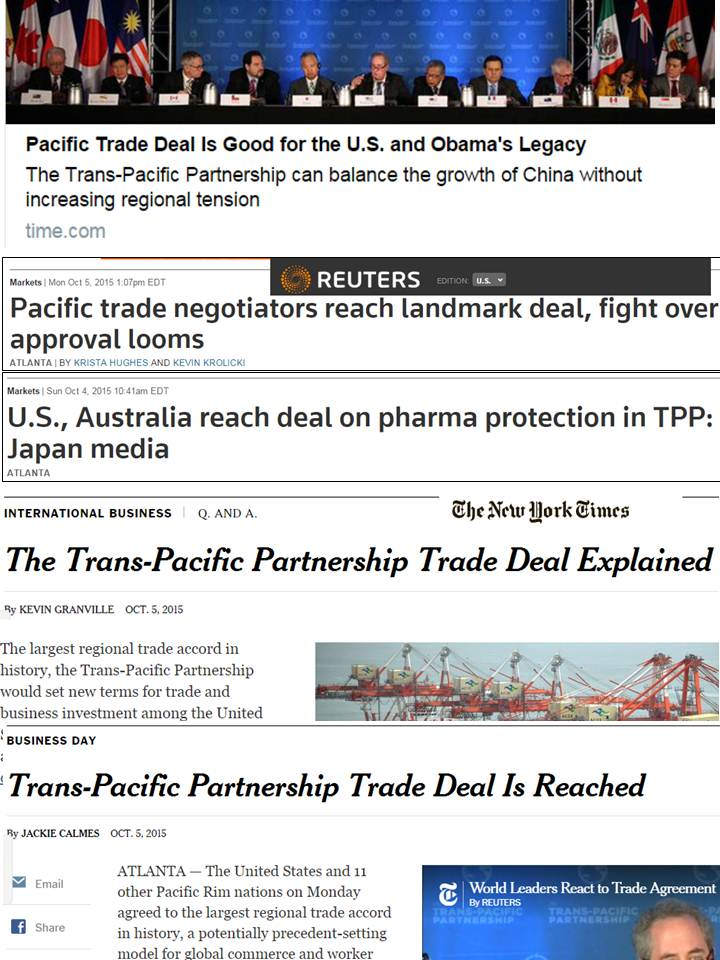 Government And Taxes Free Trade 55 Tpp Agreement Finally