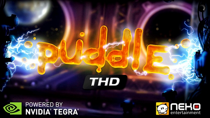 Puddle HD on Ouya