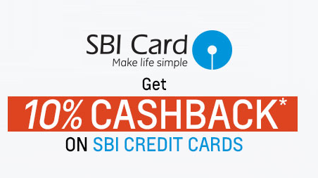 Shopclues : 10% cashback on SBI cards