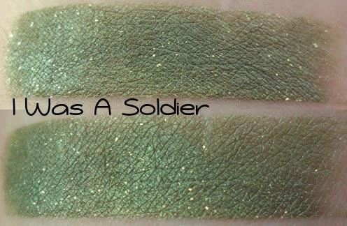 Geek Chic I Was A Soldier Swatch