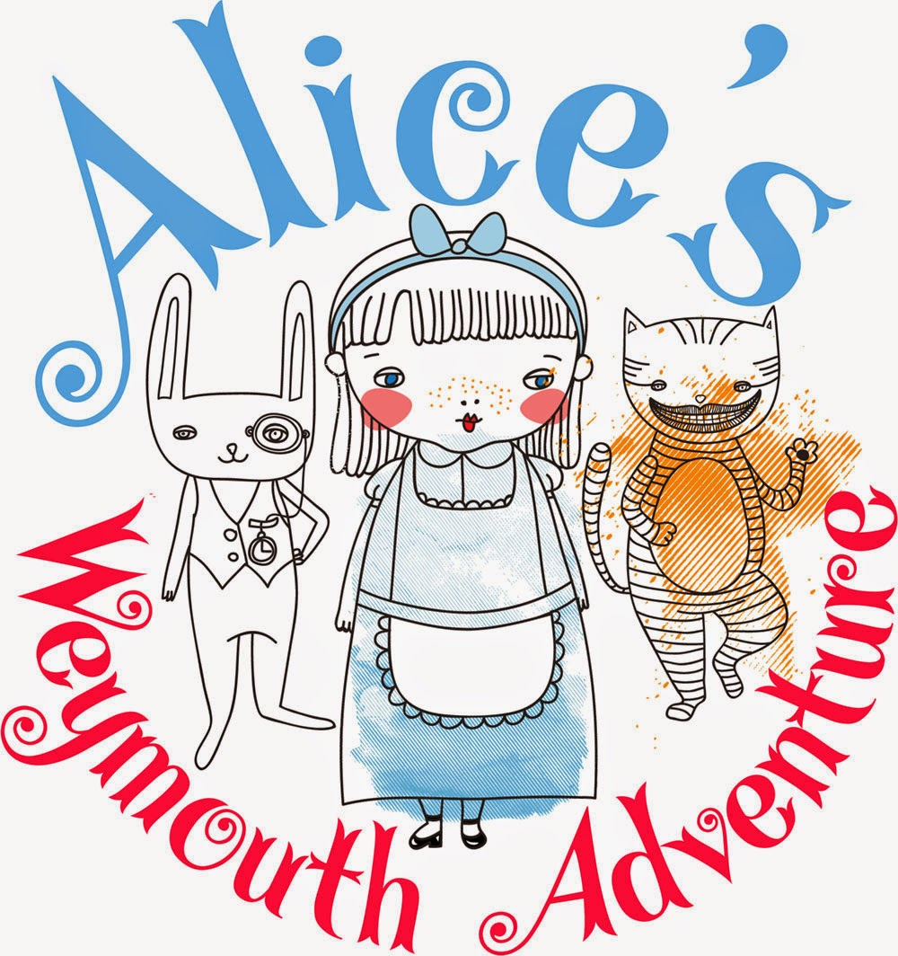 Alice's Weymouth Adventure Treasure Trails and Tea Parties organised by Weymouth Bid