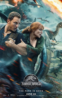 Jurassic World Fallen Kingdom 2018 Hindi (Org) Dual Audio BluRay 200Mb hevc