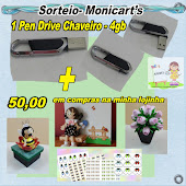 sorteio do blog monicarts será dia 05/05