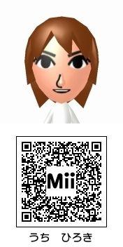 内博貴のMii QRコード トモダチコレクション新生活