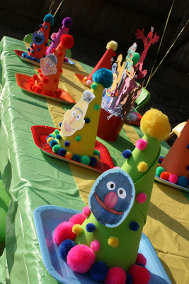 And While Were On The Topic Of Tables Lets Turn Our Attentions To What I Think One Most Fun Parts About A Sesame Street Party Is
