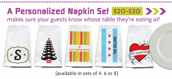 Shop All Personalized Napkin Sets