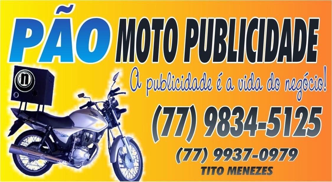 PÃO MOTO PUBLICIDADE