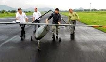 Pesawat UAV Rancangan Universitas Surya. Prokimal Online Kotabumi Lampung Utara