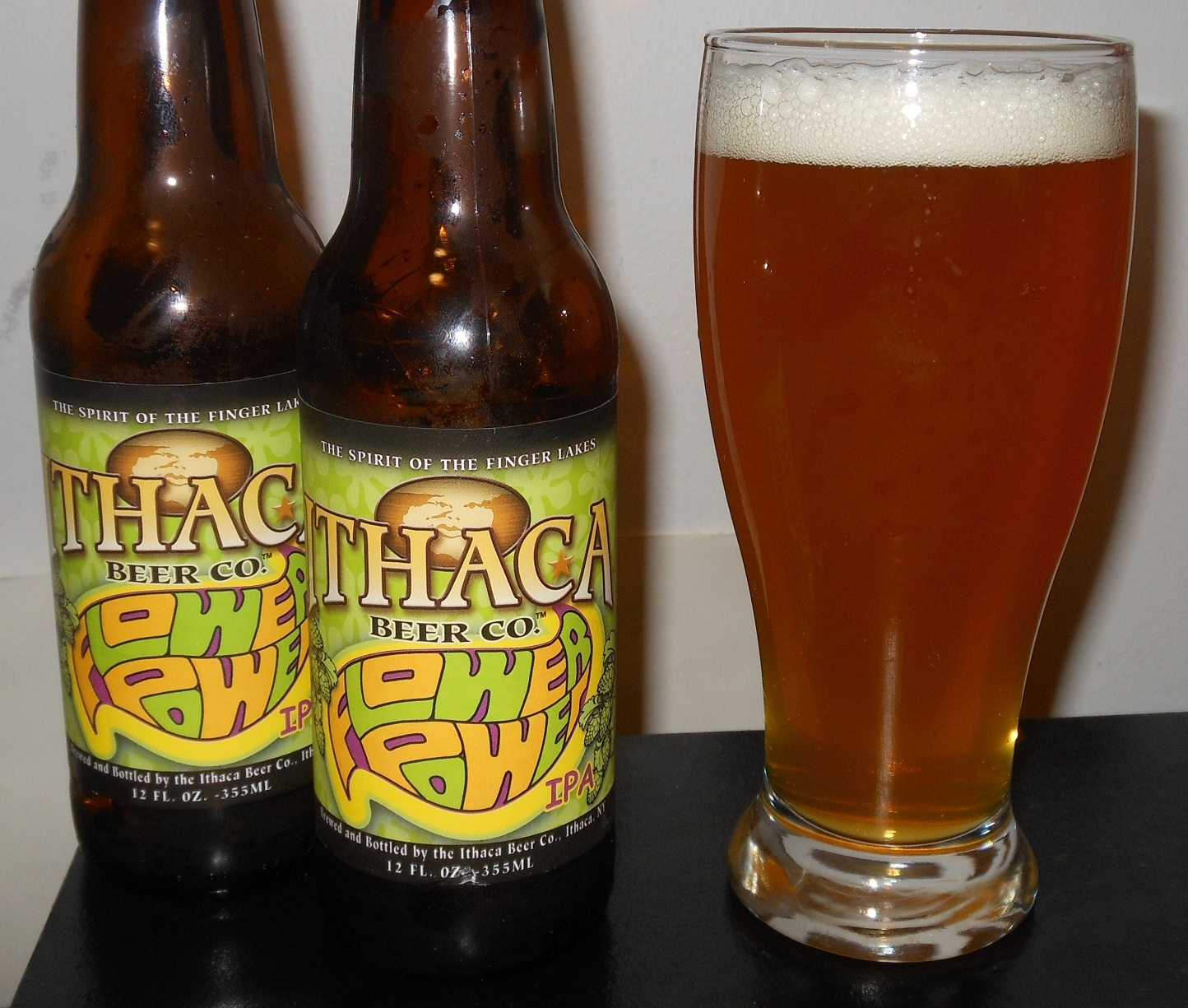 Horror Movies and Beer Ithaca Flower Power IPA