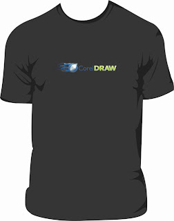 "Estampa de Camisa vetorizada - ""Corel Draw"""