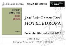 FIRMA DEL LIBRO HOTEL EUROPA