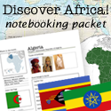 Discover Africa Notebooking Packet!
