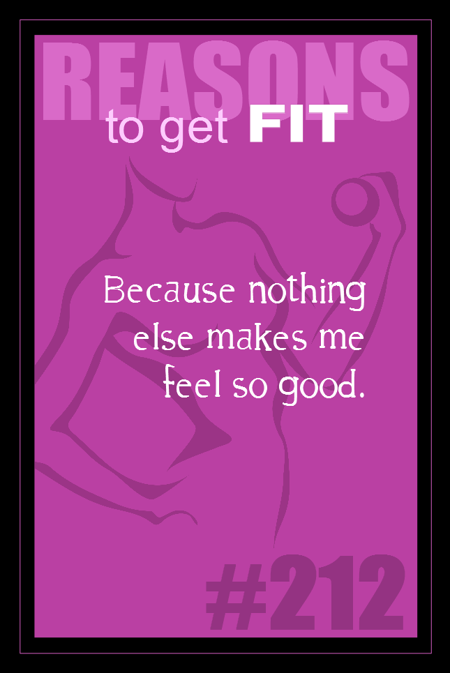 365 Reasons to Get Fit #212
