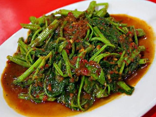 Resep Dan Cara Tumis membuat sayur kangkung
