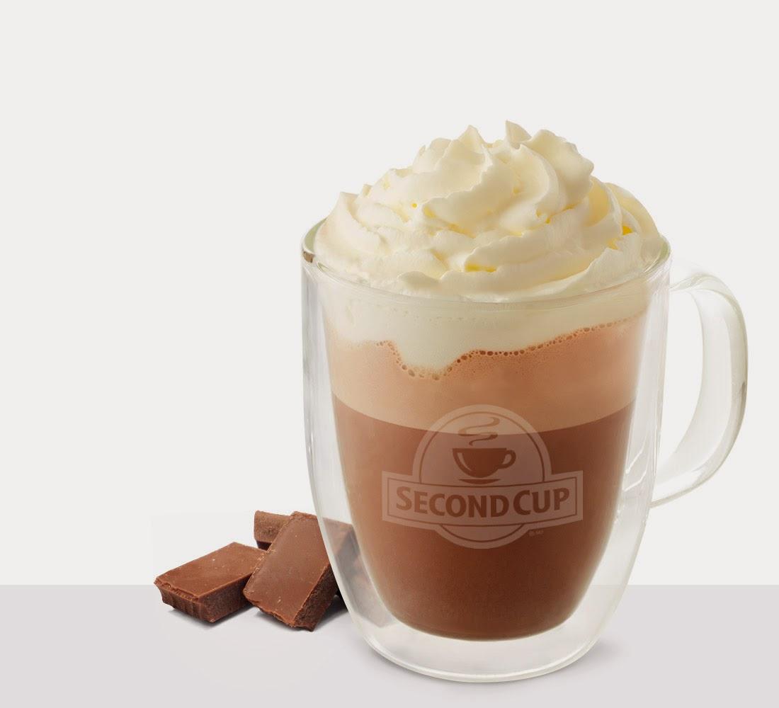 Aujourd'hui seulement: Chocolat chaud 50% de rabais!chez Second Cup! #missionhivernale