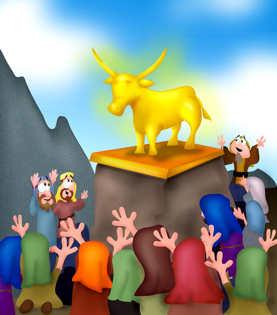 mr biblehead golden calf exodus 32
