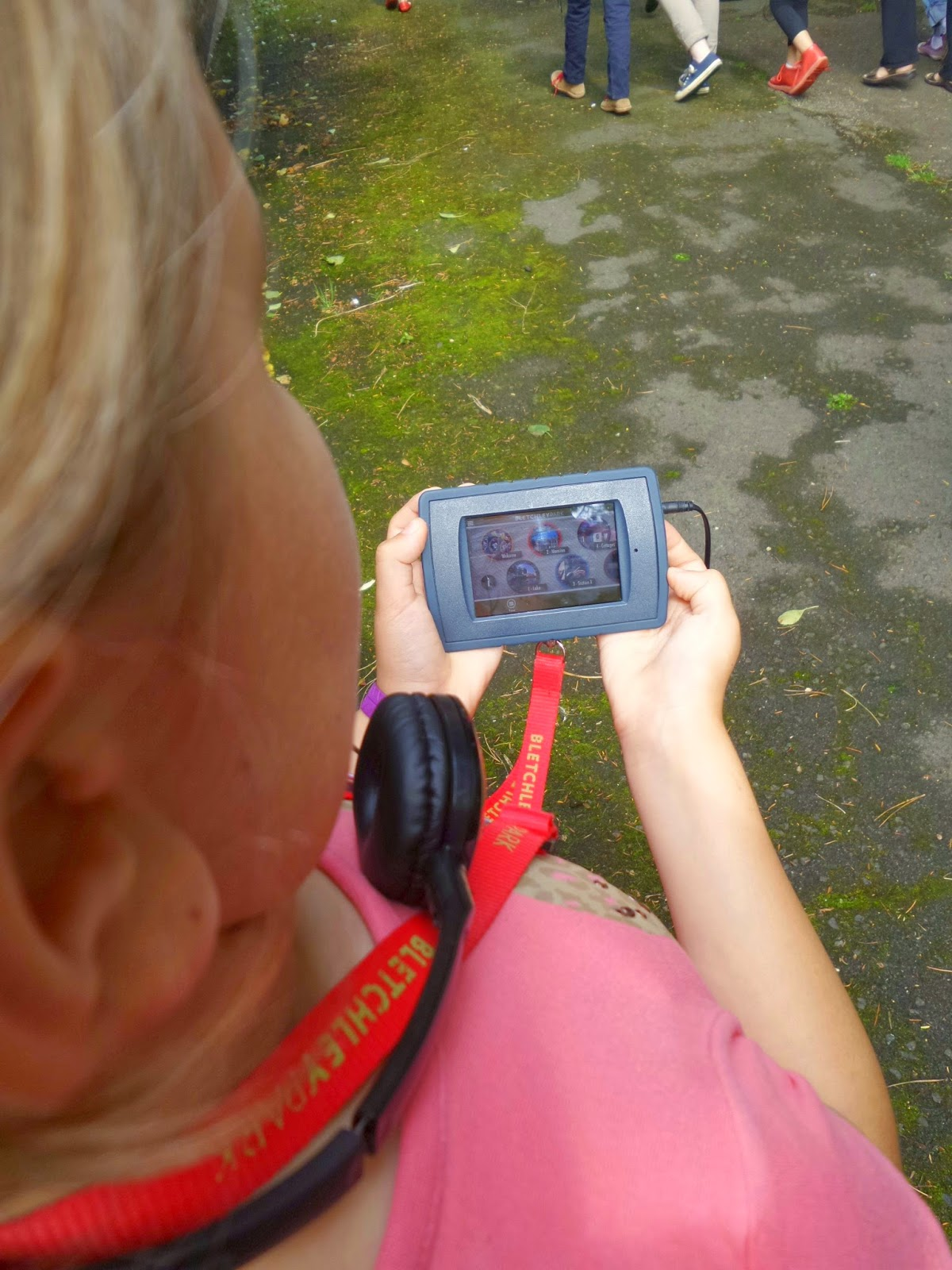 Top Ender on the iPod Touch Multimedia guide at Bletchley Park