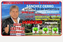 Kausachun Sánchez Cerro