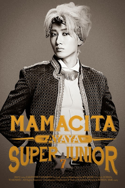 Super Junior Mamacita Ayaya Eunhyuk