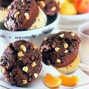 Resep Cara Membuat Kue Muffin Coklat Kacang