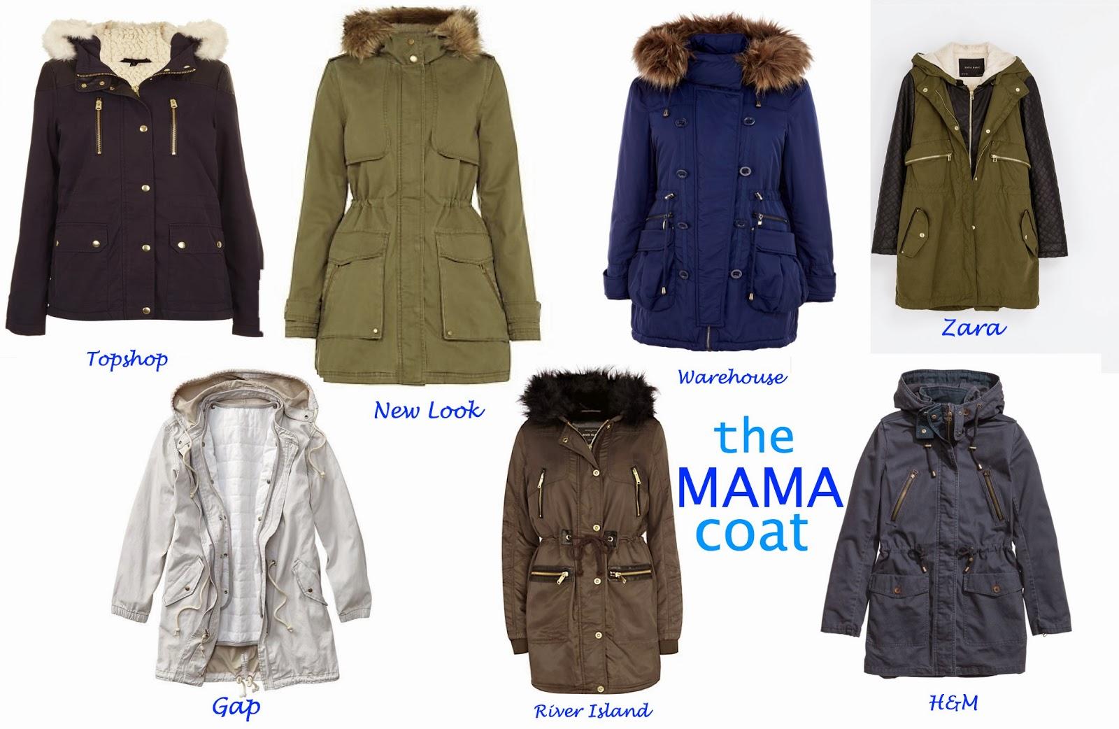 V. I. BUYS   The coat that all stylish mamas are wearing   Parka coats   the mama uniform   practical coats for new mums   style   fashion for mums   coats   mamasVIB