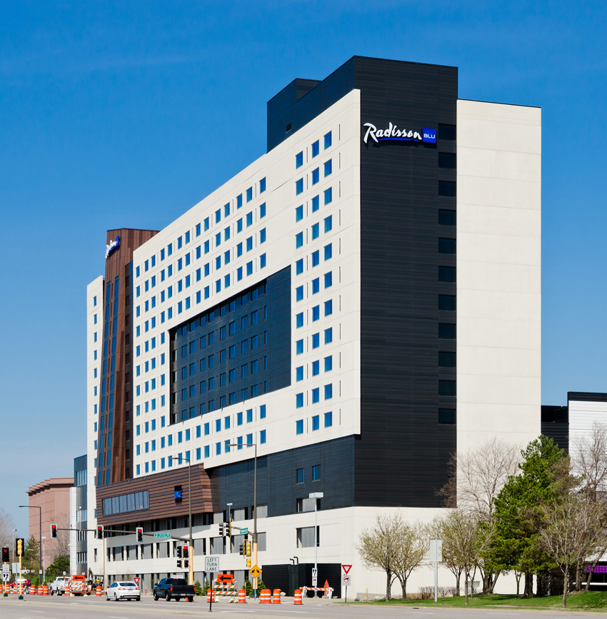 Porcelanosa Group Projects Hotel Radisson Blu Mall Of America Minnesota Usa