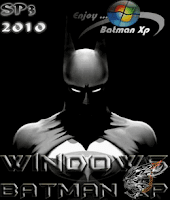Windows XP SP3 Batman Edition