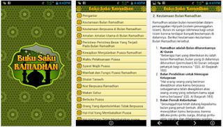 Buku Saku Ramadhan ScreeShot