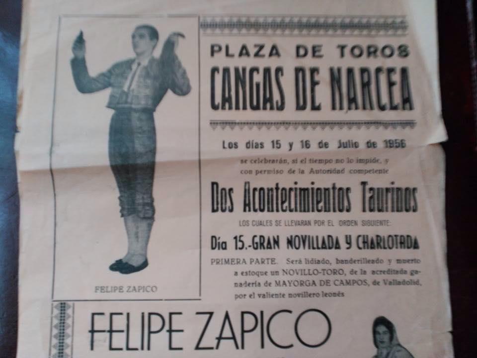 cartel toros cangas de narcea