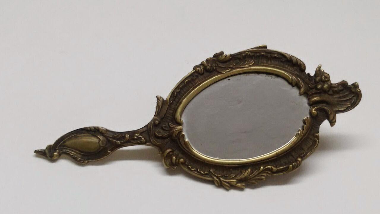 O desv n vintage do pereiro espejo bronce - Desvan vintage ...