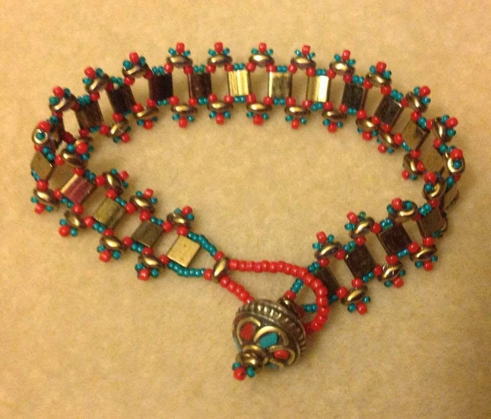 River Walk Bracelet designed by Cynthia Newcomer Daniel