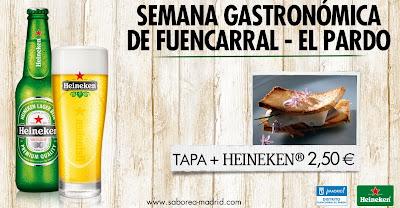 1ª Semana Gastronómica de Fuencarral - El Pardo
