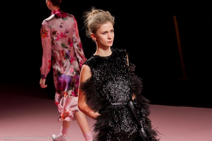 Cronica Desfile El Extasis de Aurora Colección Otoño Invierno 2015 2016 Juan Vidal en la Fashion Week