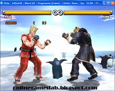 king in tekken ,king ,tekken 5 game
