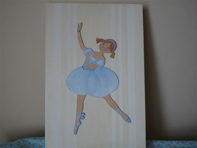 El taller de cayetana cuadro de bailarina - Cuadros bailarinas infantiles ...