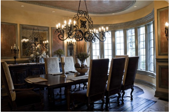Key Interiors By Shinay Old World Dining Room Design Ideas