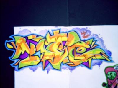 graffiti names walls