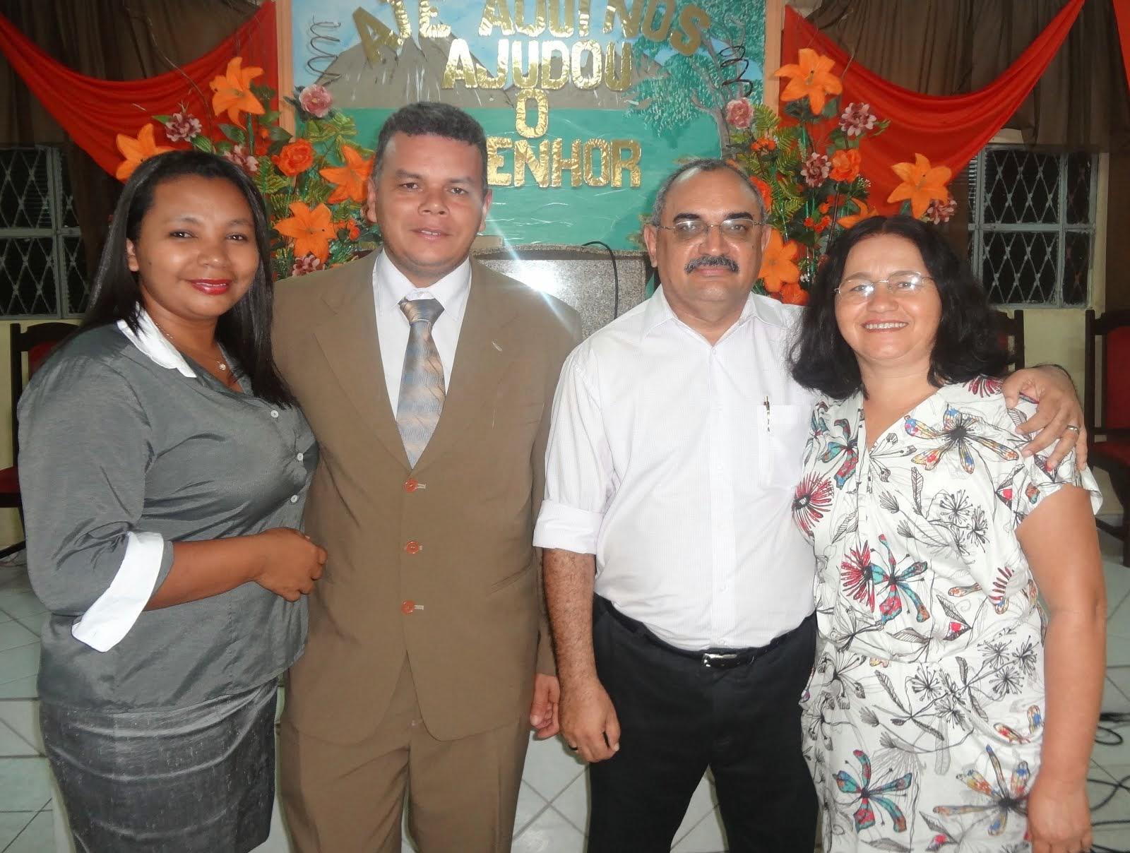Diacª Ana Cleide e Presb. Ecrivaldo Gomes & Professor Pádua e Jânia de Pádua